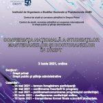 3 iunie 2021- Conferința națională a studenților, masteranzilor și doctoranzilor în drept